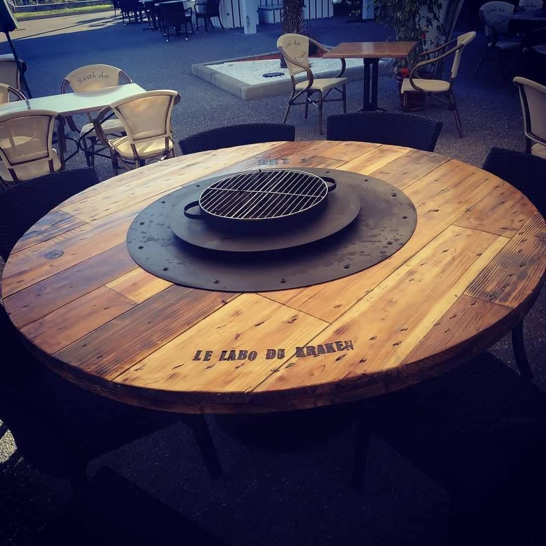 Acompte table basse brazero