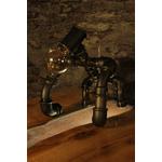 lampe-tuyau-raccord-industriel-lampadaire