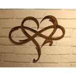 décoration mural-décoration industriel-décoration love-coeur-le labo du kraken-decoration rouille-effet rouiller-acier-métal