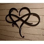 décoration mural-décoration industriel-décoration love-coeur-le labo du kraken-decoration rouille-effet rouiller-acier-métal-déco-i lobe you
