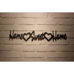 home sweet home-le labo du kraken-décoration industriel-rouille-acier-métal-love-décoration interieur-décoration mural-home