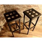 le labo du kraken-mobilier industriel-tabouret bar-tabouret acier-tabouret dé-six dé-jeux de dé-bar-tabouret original-tabouret industriel-