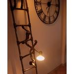 lampadaire original-le labo du kraken-lampadaire peintre-lampadaire rigolo-lampadaire vintage-lampadaire acier-lampadaire tuyau-lumière echelle
