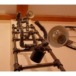lampadaire tuyau