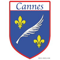 Sticker, Blazon de CANNES