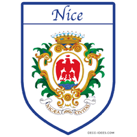 Sticker, Blazon de NICE