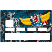 Credit card Sticker,  tribute to Goldorack