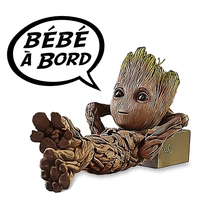 Sticker, Baby on board! Baby Groot