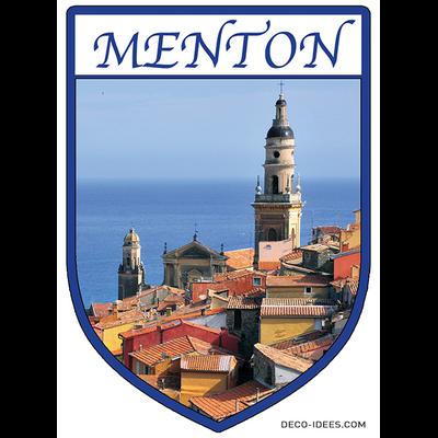 Sticker, Blazon de MENTON
