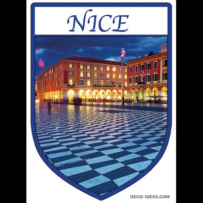 Sticker, Blazon de NICE cote d'azur