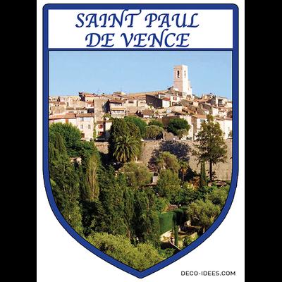 Sticker, Blazon de SAINT PAUL DE VENCE