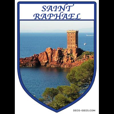 Sticker, Blazon de SAINT RAPHAEL