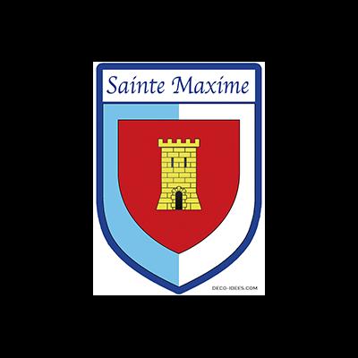 Sticker, Blazon de SAINTE MAXIME