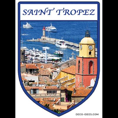 Sticker, Blazon de SAINT TROPEZ