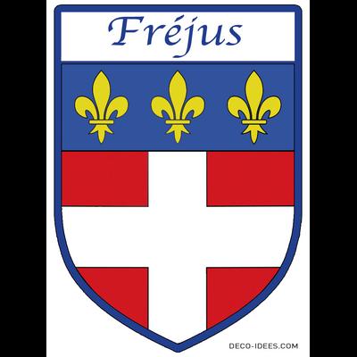 Sticker, Blazon de FREJUS