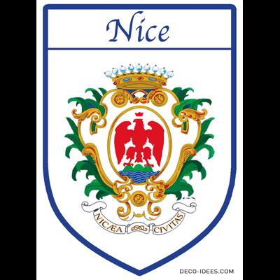 Sticker, Blazon de NICE
