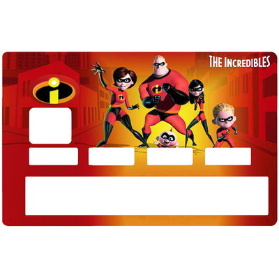 Credit card Sticker,  tribute to Les Indestructibles