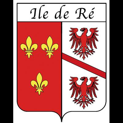 Sticker Shield ECUSSON, Ile de Ré