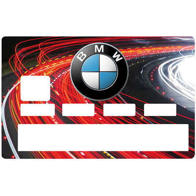 Credit card sticker, Tribute to BMW
