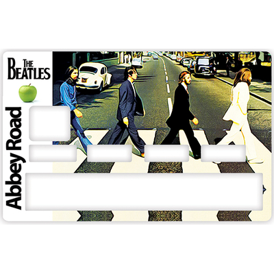 Credit card sticker, Tribute to ABBEY ROAD, The Beatles