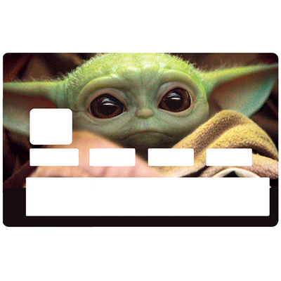 Credit card Sticker, BABY JEDI, limited edition 100 ex.
