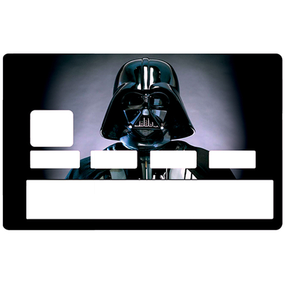 Credit card Sticker, DARTH VADER, limited edition 100 ex.