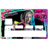 Credit card Sticker, tribute to harley Quinn, Suicide Squad, Limited edition 100 ex