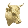 Bull Head, color Gold