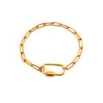 bracelet grosse maille bykloe bijoux