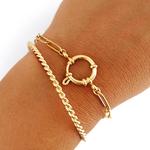 bracelet grosse maille femme bykloe bijoux