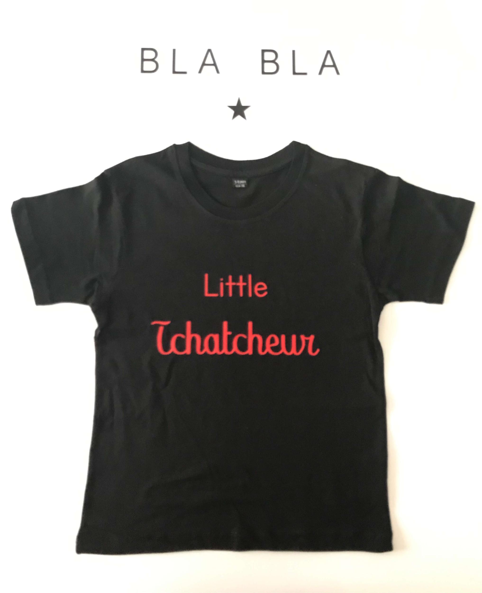 T-shirt enfant Little tchatcheur