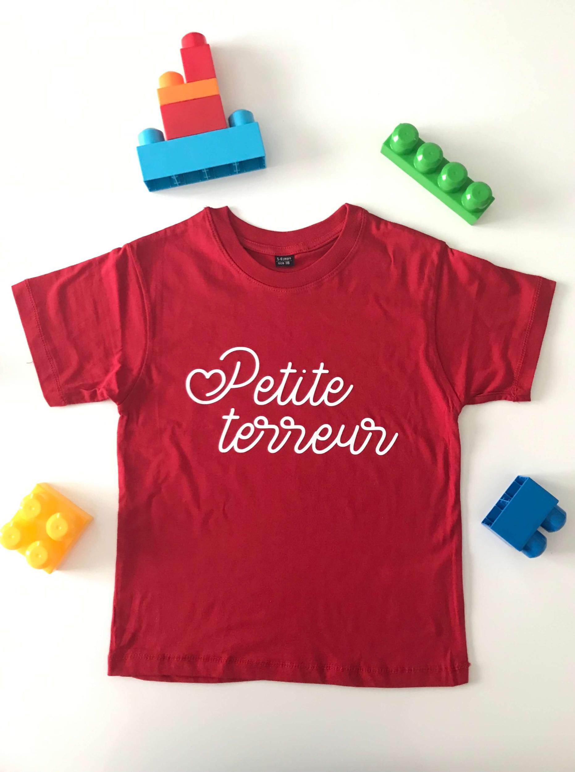 T-shirt enfant Petite terreur