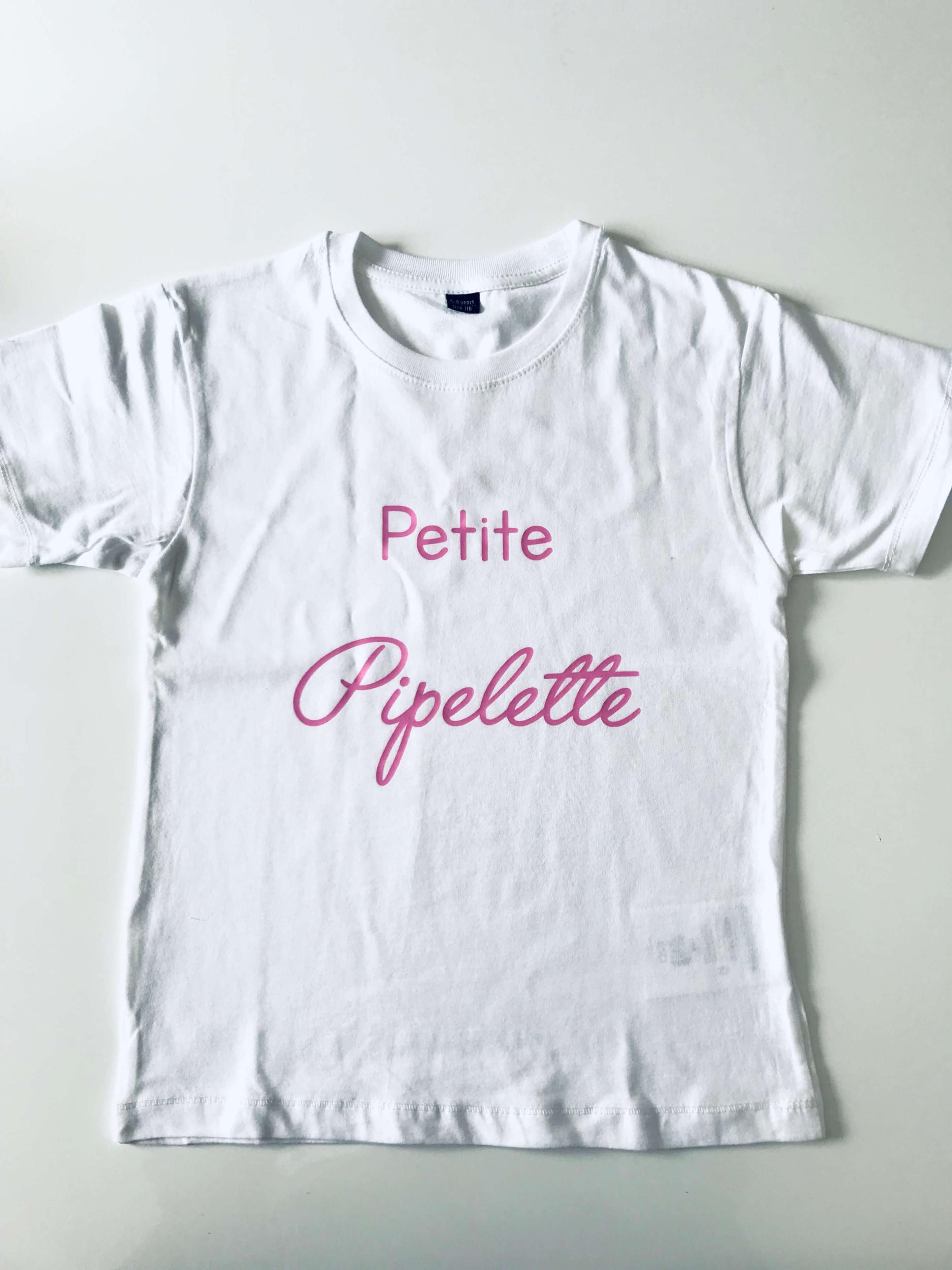 T-shirt enfant Petite Pipelette