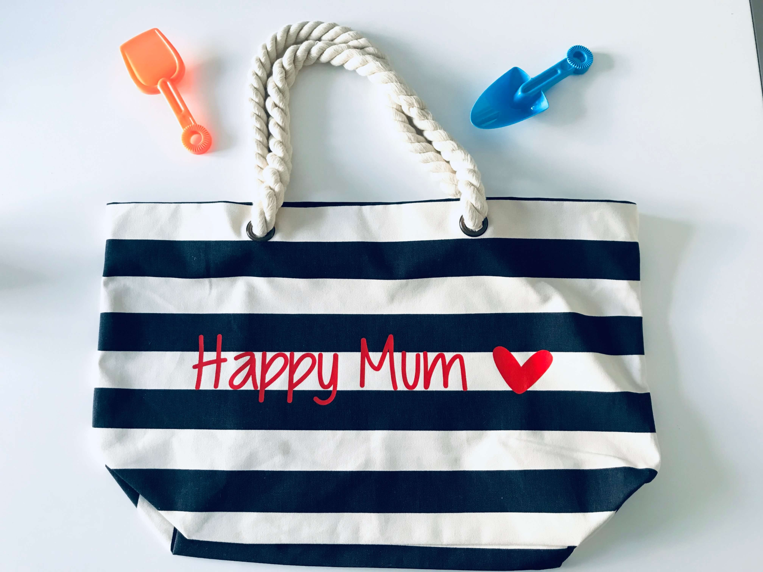 Sac de plage Happy Mum