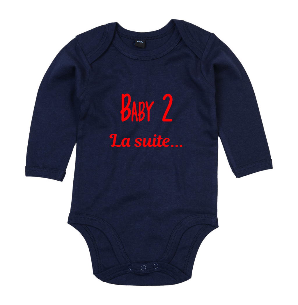 Body annonce de naissance Baby 2