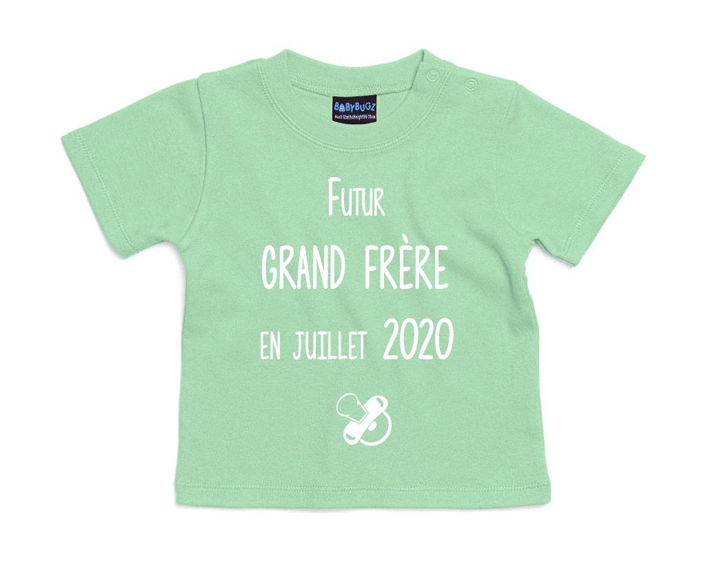 T-shirt bébé Futur grand frère pour...