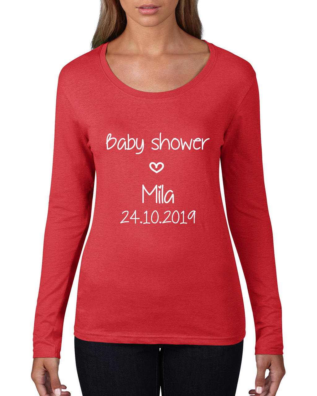 T-shirt invitées Baby Shower
