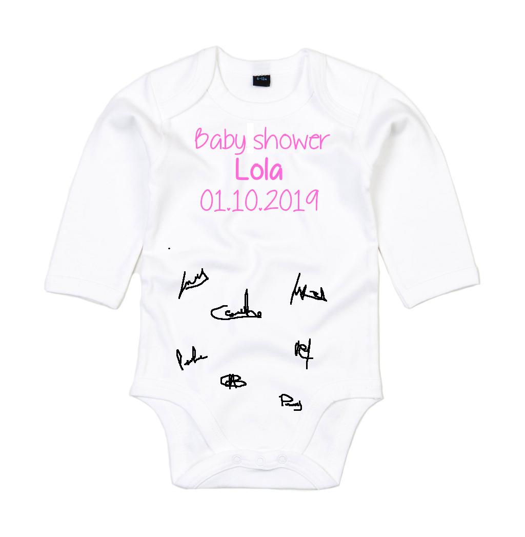 Body baby shower Signatures