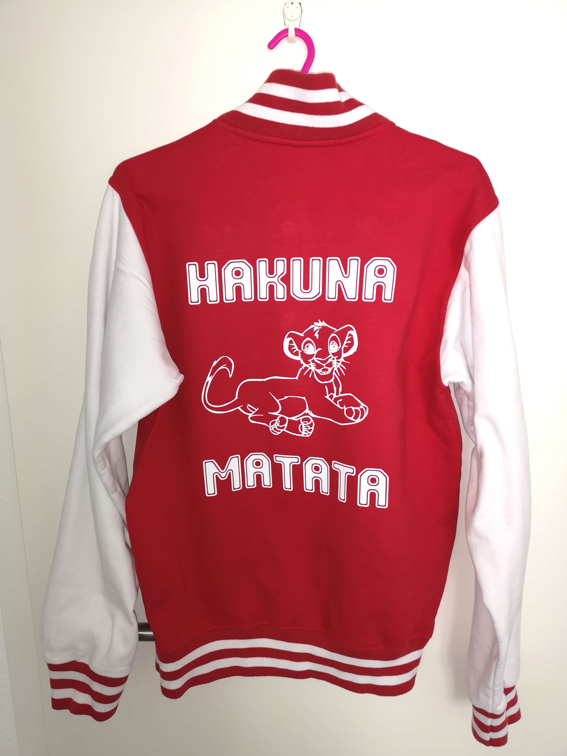 Blouson teddy adulte Hakuna Matata