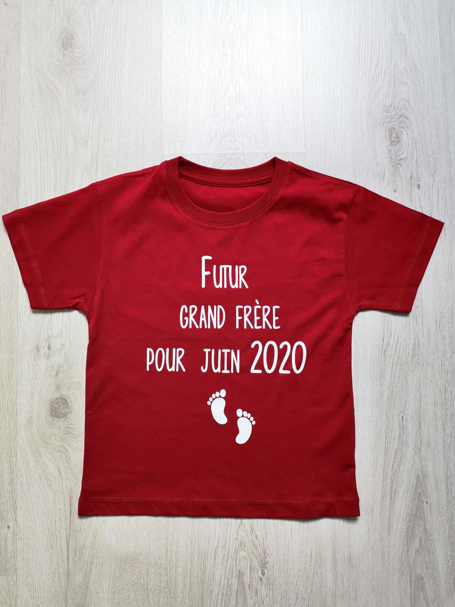 T-shirt enfant Futur grand frère pour ...
