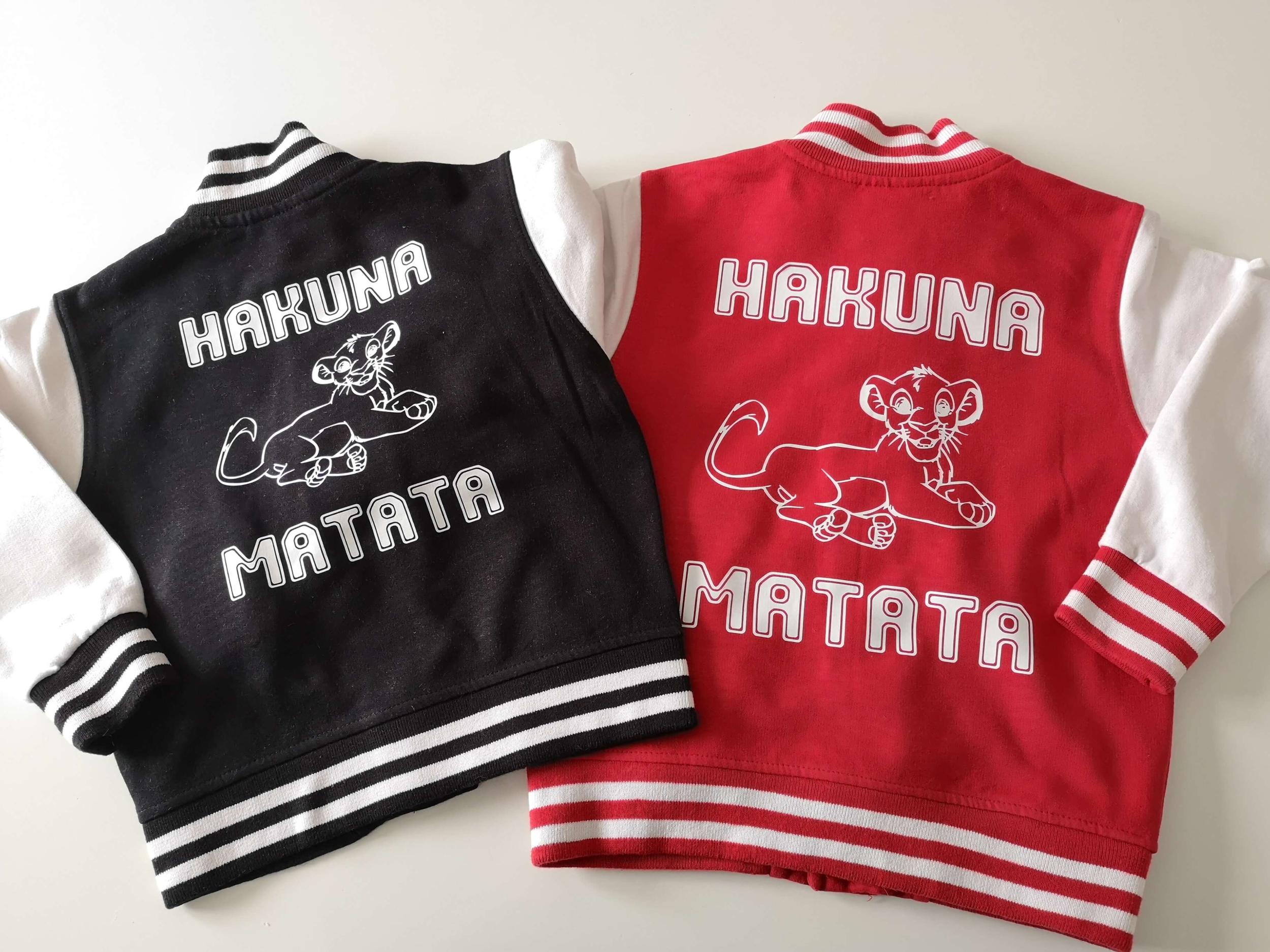 Blouson teddy Hakuna Matata