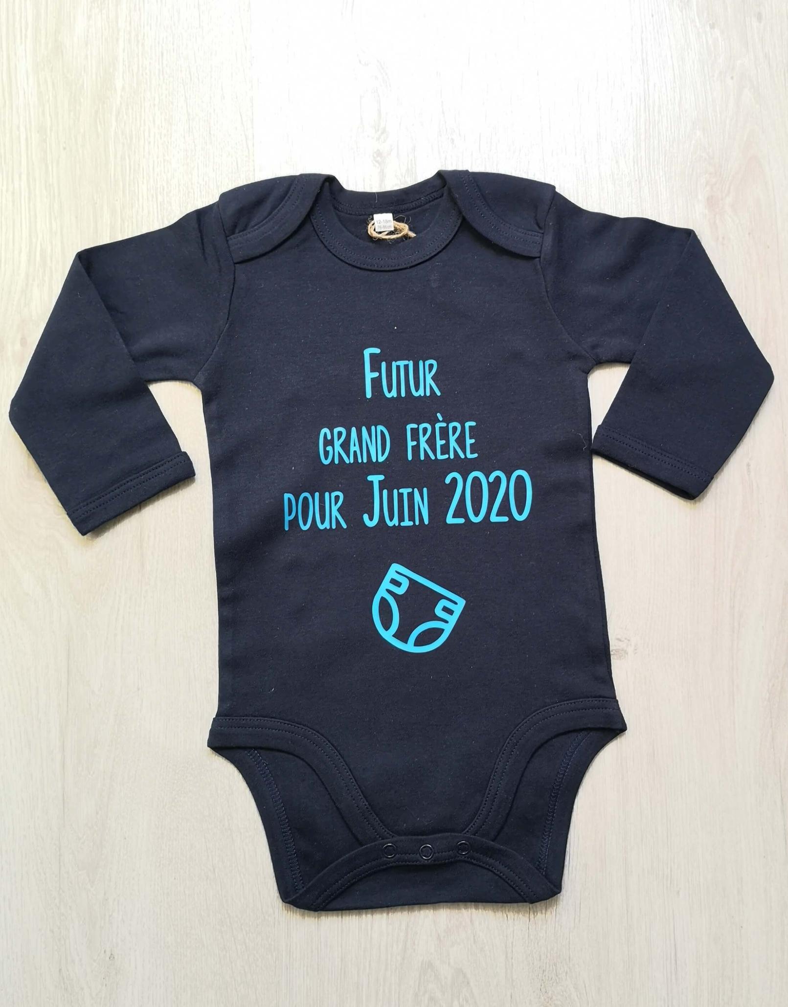 Body bébé futur grand frère pour - personnalisé
