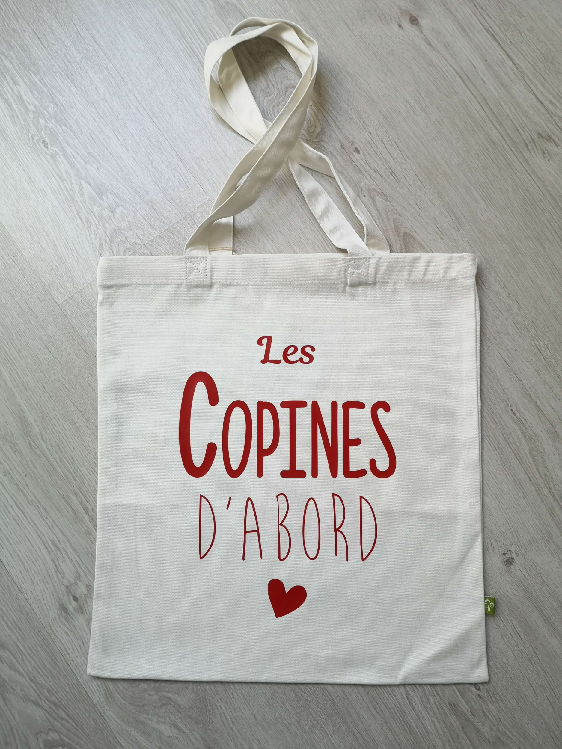 Tote bag Les copines d\'abord