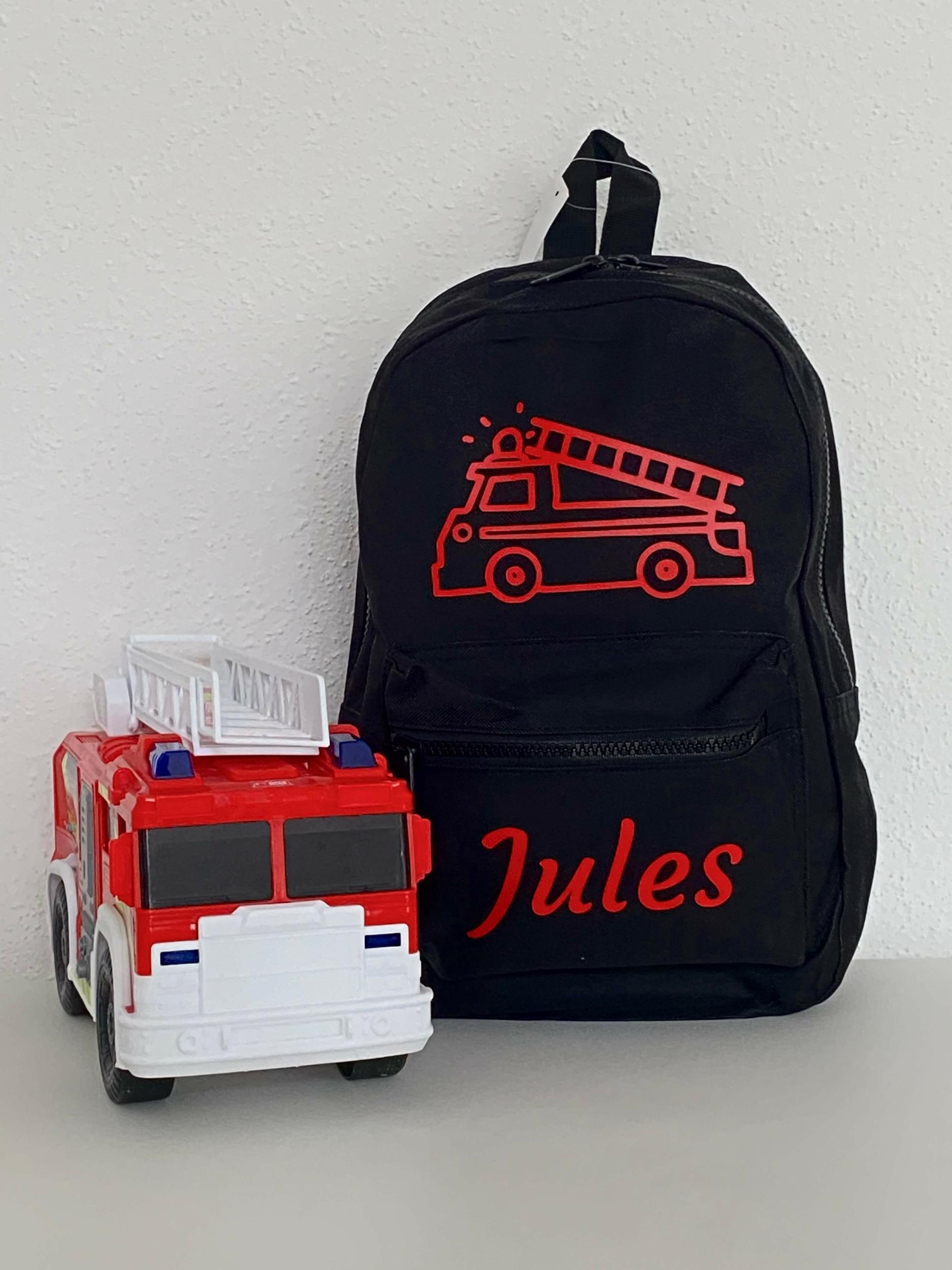 Mini sac à dos Pompier