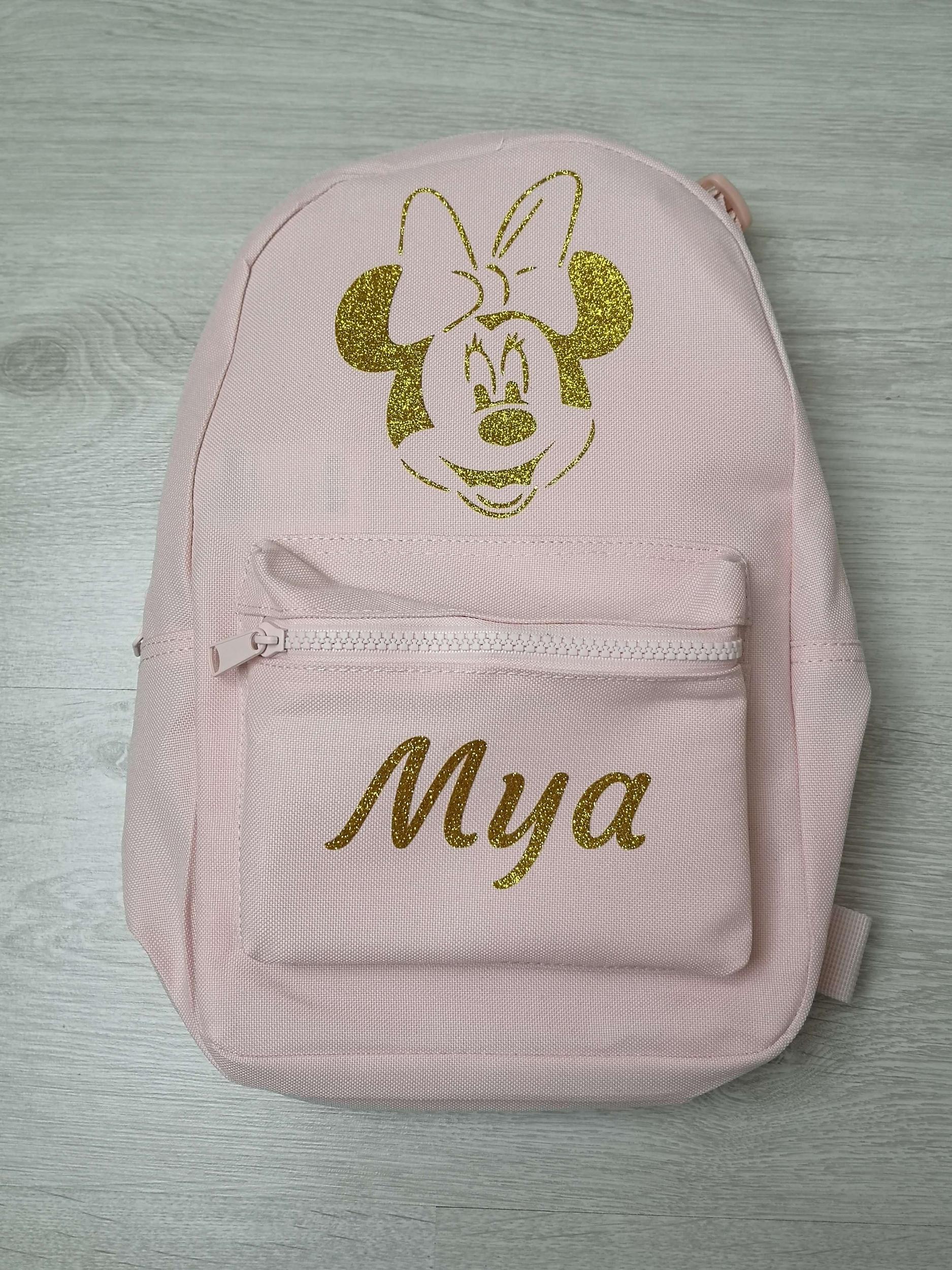 Mini sac à dos Minnie prénom Mya