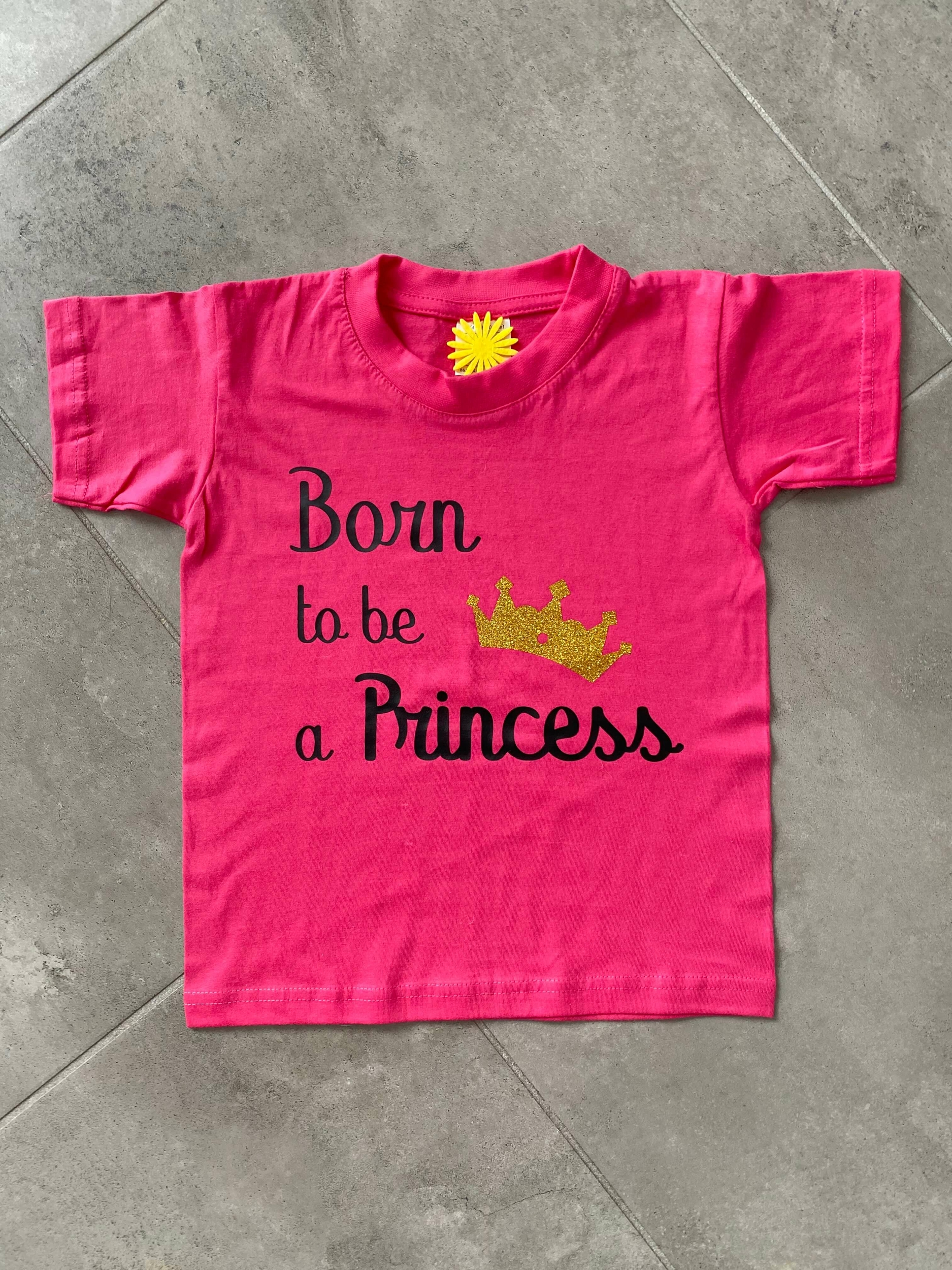 T-shirt enfant Born to be a Princess