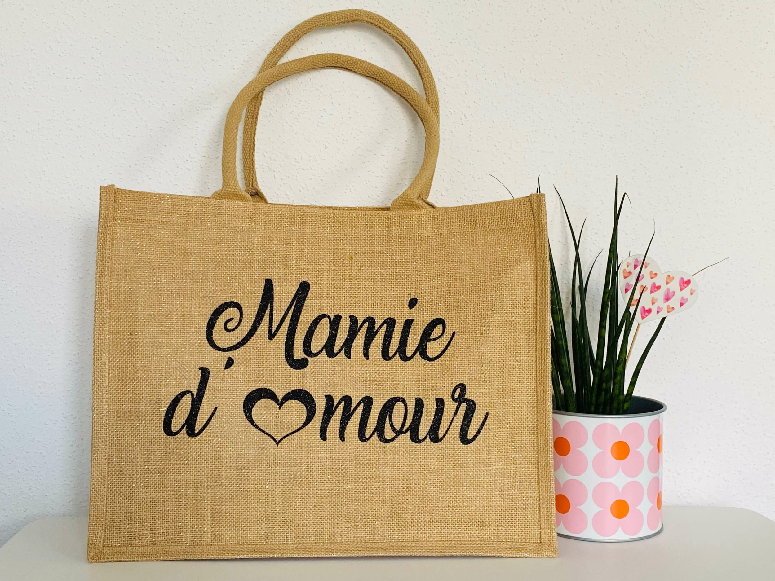 Sac shopping Mamie d\'Amour
