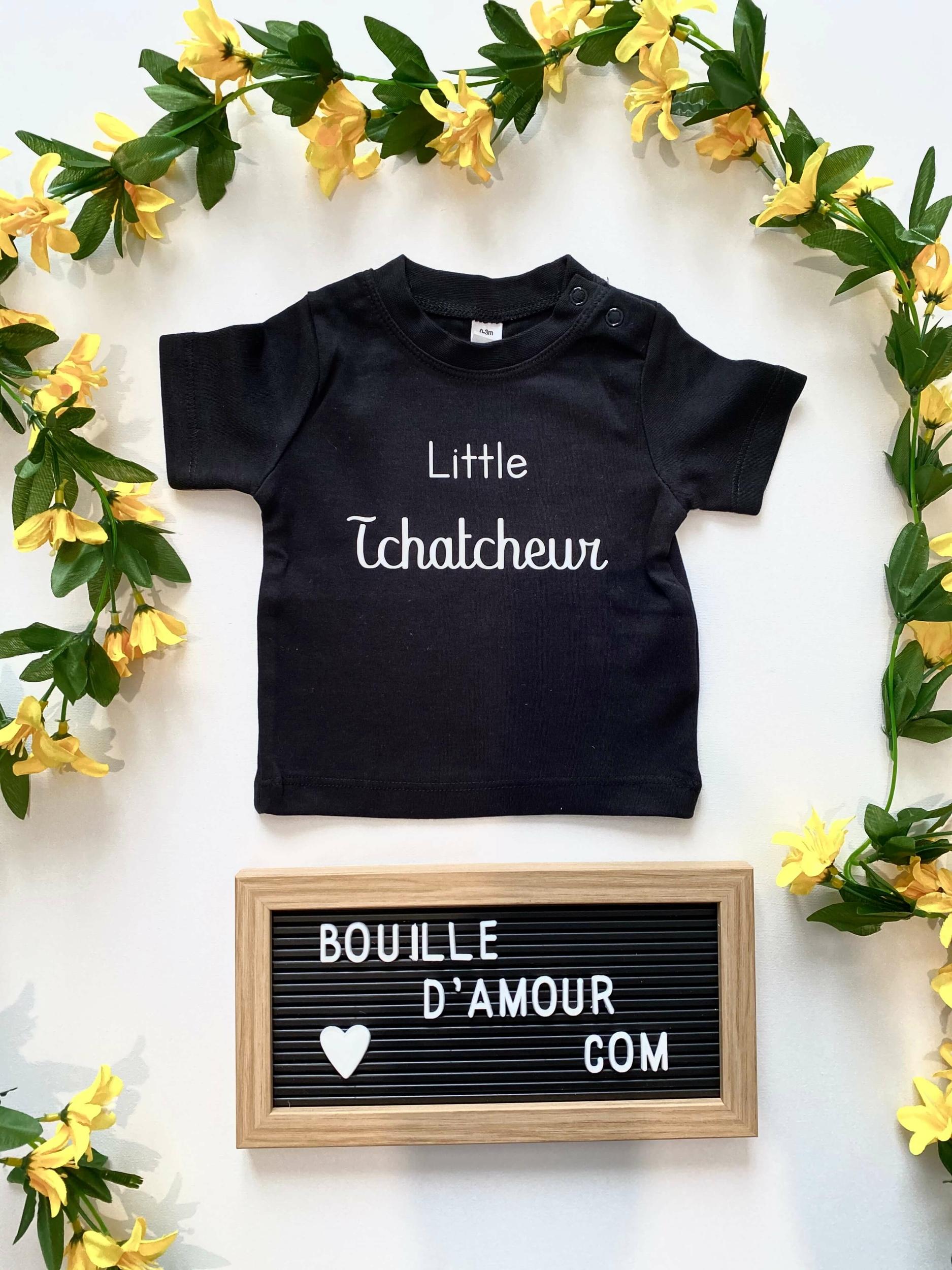 T-shirt bébé Little tchatcheur
