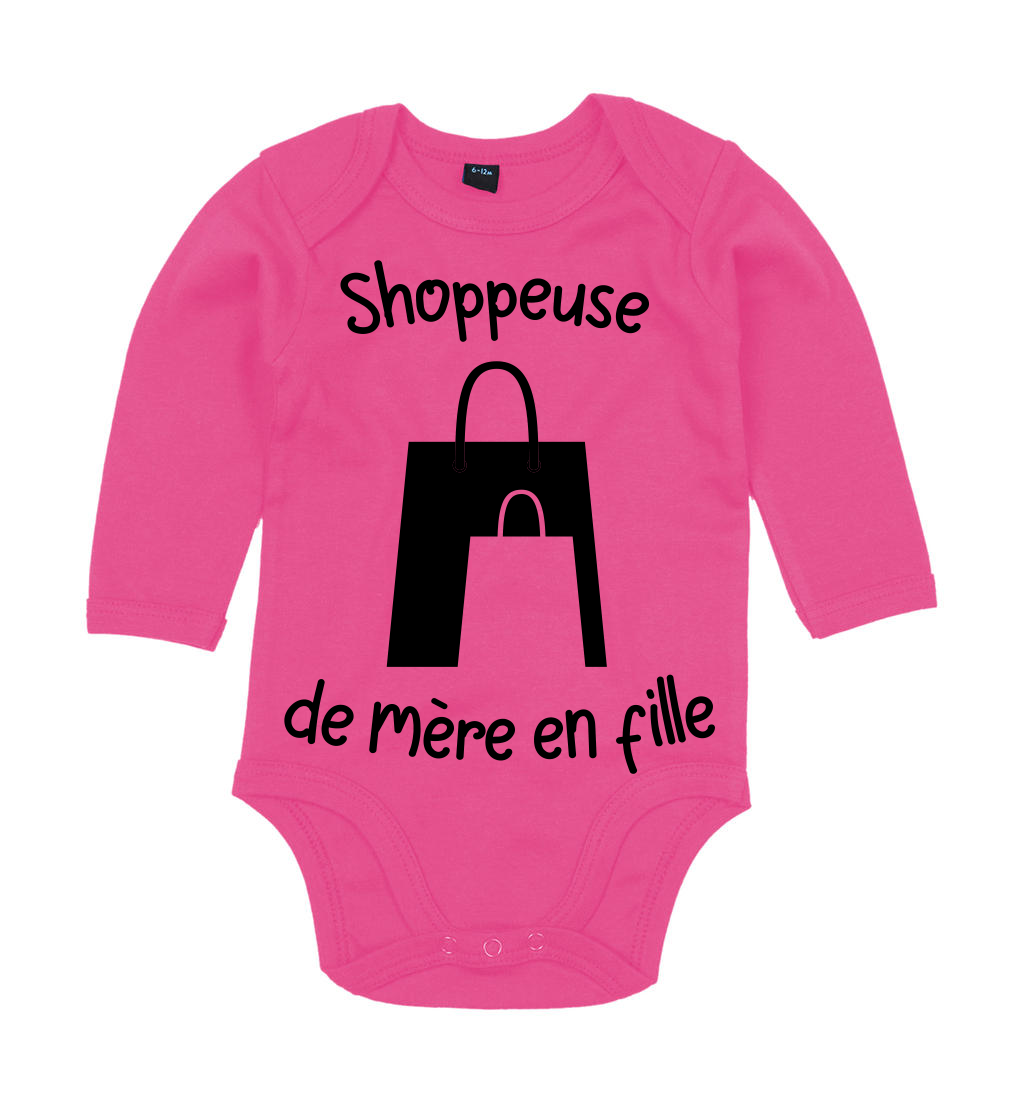 Body Shoppeuse de mère en fille