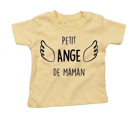 T-shirt bébé Petit ange de maman